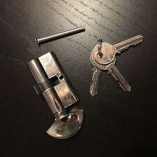 Static Caravan Eurolock door lock with turnbuckle, 3 keys, 30mm x 30mm