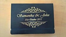 Personalised DIY Wedding Guest Book Photo Album Vinyl Decal Sticker A4