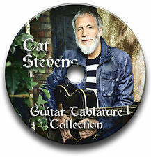 CAT STEVENS ROCK CHITARRA schede tablature SONG BOOK CD software