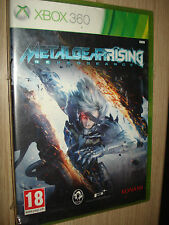 GIOCO XBOX 360 METAL GEAR RISING REVENGEANCE COMPLETAMENTE IN ITALIANO X BOX NEW