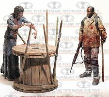 THE WALKING DEAD TV MORGAN WITH IMPALED WALKER