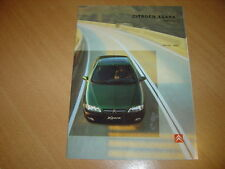CATALOGUE Citroën Xsara de 1998