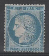 """FRANCE STAMP TIMBRE N° 60 C  """" CERES 25c  BLEU TYPE III """" NEUF x A VOIR  P589"""