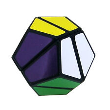 Dodecahed Lanlan 2x2x2 12 Sides Puzzle Magic Cube Speed  Cube Black Kids Gift