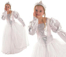 Childrens Kids Princess Fancy Dress Costume Girls Childs Cinderella Outfit M