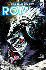 ROM SPACEKNIGHT 0 FCBD FREE COMIC BOOK DAY 2016 GIVEAWAY PROMO IDW NM 1