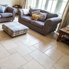HELIGON ANTIQUED LIMESTONE FLOOR TILES - SAMPLE
