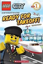 LEGO City: Ready for Takeoff! (Level 1), Scholastic, Good Book