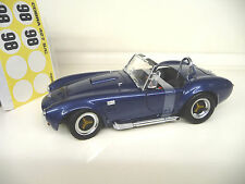 1:18 Kyosho shelby cobra 427 s/C BLUE METALLIC 1. Edition Neuf New