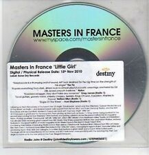 (CO550) Masters In France, Little Girl - 2010 DJ CD