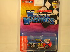 """Nascar  """" 24""""  DUPONT CAR 1:64 scale  NEW ITEM- Muscle Machines"""