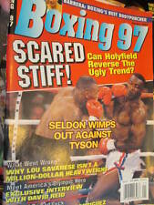Boxing 97 Magazine January 1997-Tyson v Seldon/Holyfield/Barrera/David Reid Inte