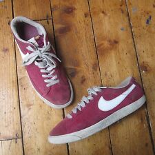 Nike Blazer Giacche sportive basse sneakers basse rosso unisex donna uomo UK 6