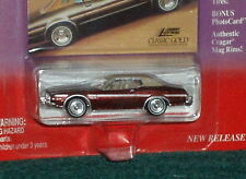 """JOHNNY LIGHTNING 1974 FORD TORINO """"CLASSIC GOLD"""" w COLLECTOR CARD 1/64"""