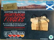160G BOX SPECIALLY SELECTED SCOTTISH ALL BUTTER SHORTBREAD FINGERS - U.K SELLER
