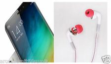 For Redmi Mi Xiaomi, Pannu gold HIGH BASS 3.5mm HANDSFREE HEADPHONE EARPHONE