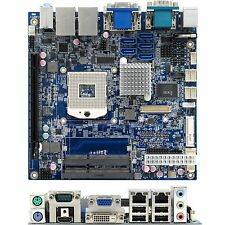 BCM MX57QM Mini ITX for 1st Gen i7, i5, i3 Mobile CPU's Board Only   QQ4 S