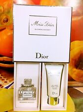 Miss Dior Blooming Bouquet EDT 5ml + Dior Moisturizing Body Milk 20ml Gift Set