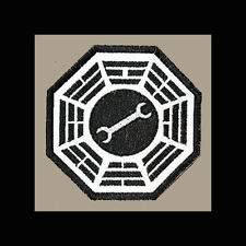 """LOST Dharma Initiative Embroidered patch """"Motor Pool"""""""