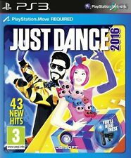 Just Dance 2016 Move PS3 * NEW SEALED PAL *