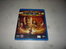 THE SCORPION KING 2 RISE OF THE WARRIOR (BLU-RAY,2008) BRAND NEW & SEALED