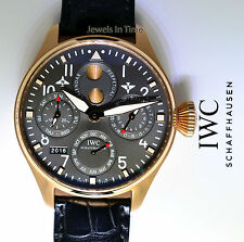 IWC Big Pilot Perpetual Calendar 18k Rose Gold Brazil Box/Papers 01/50 5026