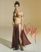 CARRIE FISHER 8X10 PHOTO - STAR WARS - PRINCESS LEIA - RARE!!! H274