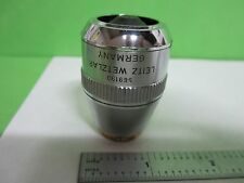 LEICA LEITZ OPTICAL MICROSCOPE PART OBJECTIVE L 50X DF OPTICS BN#T2-29 ERGOLUX