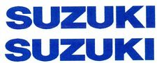 SUZUKI TANK DECALS STICKERS