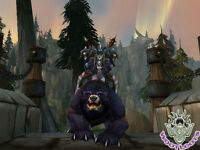 The Red Bearon Loot Card Big Battle Bear Mount World of Warcraft Wow TCG Code