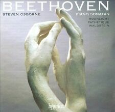 BEETHOVEN Piano Sonatas Steven Osborne CD NEW Moonlight Pathetique Waldstein