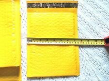 30 New Yellow Poly Bubble Mailers,6x9 Bubble Padded Mailing Shipping Envelopes