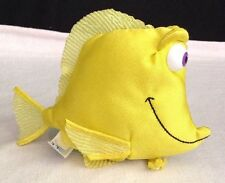 "Finding Nemo Yellow 5"" BUBBLES Fish Plush Stuffed Toy Animal From: Applause"