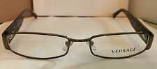Versace Authentic Lady's Eyeglass V1122B Bronze Front Zyl Tort Temps w Stones