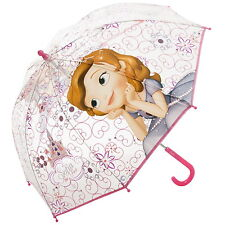 NEW OFFICIAL Sofia The First Disney Girls / Kids Bubble / Dome Umbrella / Brolly
