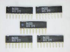 """BA333  """"Original"""" ROHM  9P SIP IC  5  pcs"""
