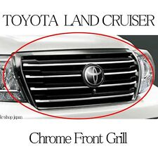 TOYOTA Genuine LAND CRUISER LC200 URJ202 Front Grill Smoked Chrome Japan Parts