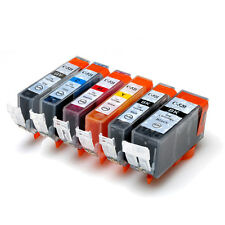 5x ink Cartridge PGI-520BK CLI-521 B/C/M/Y for CANON iP3600 MP980 MX860 MP630