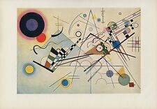 "1958 Vintage KANDINSKY ""COMPOSITION VIII"" ABSTRACT COLOR Art Print Lithograph"