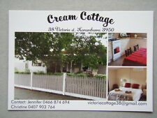 Cream Cottage B&B Korumburra Brochure Postcard
