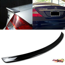 PAINTED MERCEDES BENZ W219 A Type Rear Trunk Spoiler Wing 4D Sedan CLS500