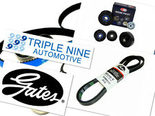 GATES BELT + NULINE PULLEY UPGRADE KIT FIT FORD FALCON 4.0L 6 CYL BA BF FG