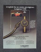 G087-Advertising Pubblicità-1985 - LONGINES CONQUEST VHP