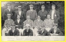 cpa BRITISH SPORT CRICKET KENT COUNTY CRICKETERS CHAMPIONS 1906 at BOURNEMOUTH