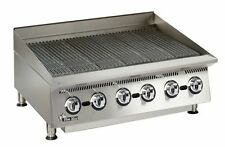 """STAR ULTRA-MAX 36"""" WIDE COUNTERTOP RADIANT GAS CHARBROILER - 8136RCBB"""