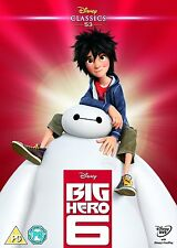 DISNEY O-RING DECORATIVE CARD SLEEVE FOR BIG HERO 6 DVD LIMITED EDITION *NO DISC