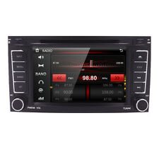 Fit T5 Multivan Transporter VW Touareg 2Din in Dash GPS Radio DVD Player SWC Aux