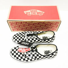 VANS Authentic Golden Coast Checker BK/WH sz 9.5 100% AUTHENTIC Checkerboard