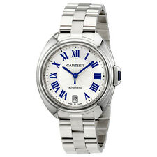 Cartier Cle Automatic Silver Dial Ladies Watch WSCL0006
