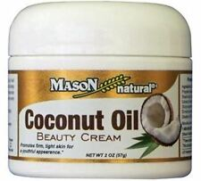 Mason Natural Coconut Oil Beauty Cream 2 oz
